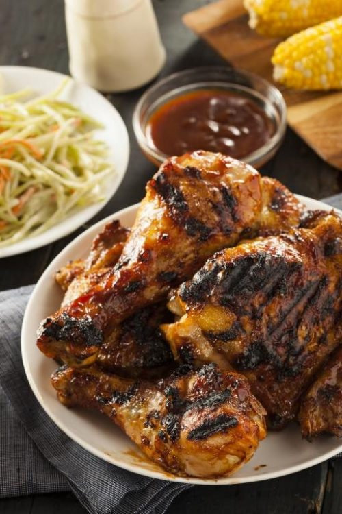 Sweet & Spicy Barbecued Chillish® & Honey Chicken Legs